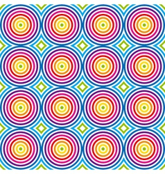vintage colorful pattern vector image