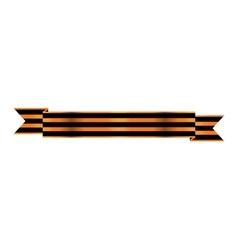Two-color Ribbon Order of St George For service vector image