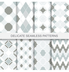 Vintage ornamental patterns - seamless vector