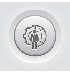 Global Integration Icon vector image