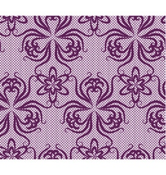Seamless lace pattern vector