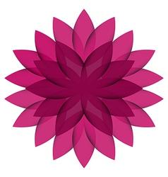 Purple wheel flower transparent vector