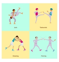Sport people activities vector