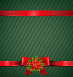 Retro green christmas wallpaper vector