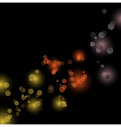 Abstract bubbles design vector