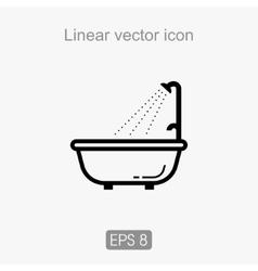 liner icon vector image vector image