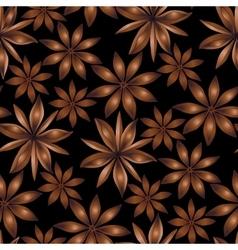 Seamless cardamom pattern vector