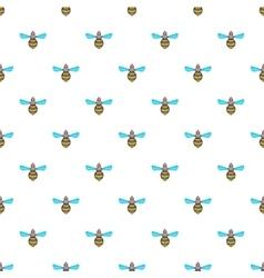 Wasp pattern cartoon style vector image