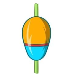 Bobber icon cartoon style vector
