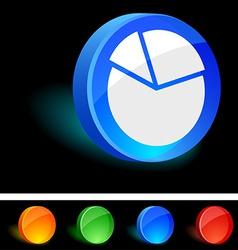 Diagram Icon vector image vector image