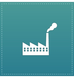 Factory icon or sign vector