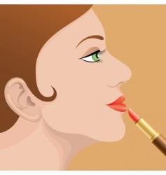 ipstick vector image