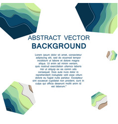 paper art of sale discount concept background vector image vector image