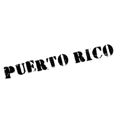 Puerto Rico stamp vector image