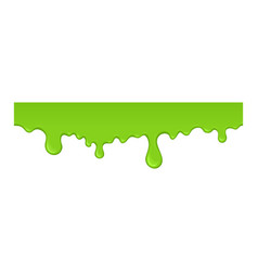 slime drops and blots vector image vector image