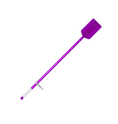 old oar in purple design vector image vector image