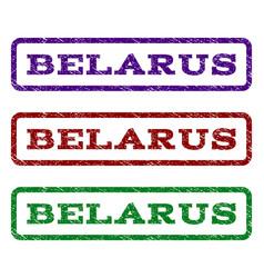 Belarus watermark stamp vector