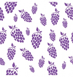 Seamless grape vector