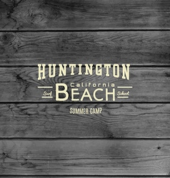 Beach badges logos and labels for any use vector