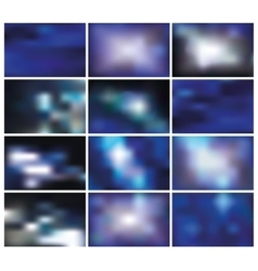 Abstract blurred backgroundsbluespace vector