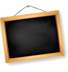little blackboard vector image