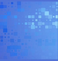Pale and dark blue glowing rounded tiles vector