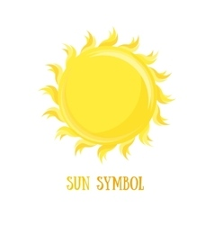 Symbol Of The Sun vector image