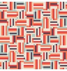 Digital red pattern vector image