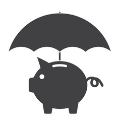 Finance insurance concept vector