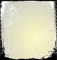 grunge frame and border series vector image