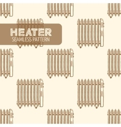 Oil-filled electric heater vector