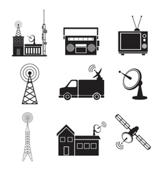 Collection communication information transmitter vector