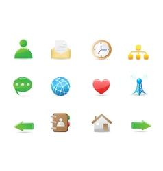 Social media icon ss vector