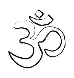 If hinduism symbol vector image