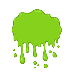 - green slime drips vector