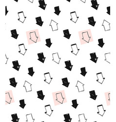 hand drawn unusual creative abstract vector image