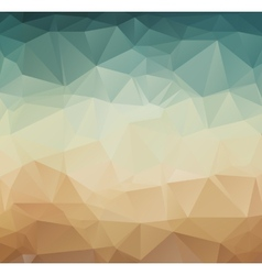 Abstract geometric pattern retro background vector image