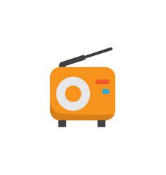 fm flat icon symbol premium quality isolated vector image vector image