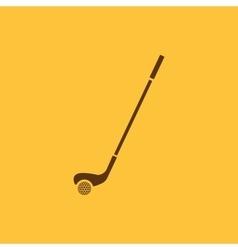 Golf icon Game symbol Flat vector image