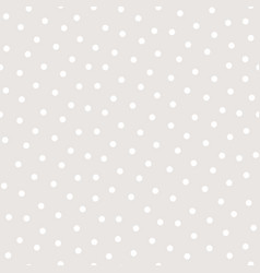 Polka dot seamless pattern subtle texture vector