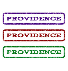 Providence watermark stamp vector