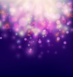 Purple Abstract Backdrop Bokeh Background vector image