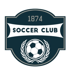 Soccer Club vector image vector image