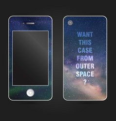 Style phone case vector