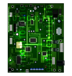 motherboard vector image