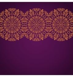 Floral indian pattern vector
