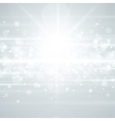 Lens flare light background vector image