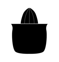 Juicer squeezer black color icon vector