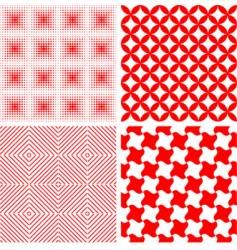 seamless repeat pattern abstract background vector image vector image