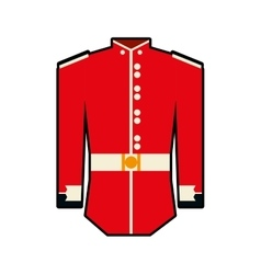 Soldier uniform icon united kingdom design vector